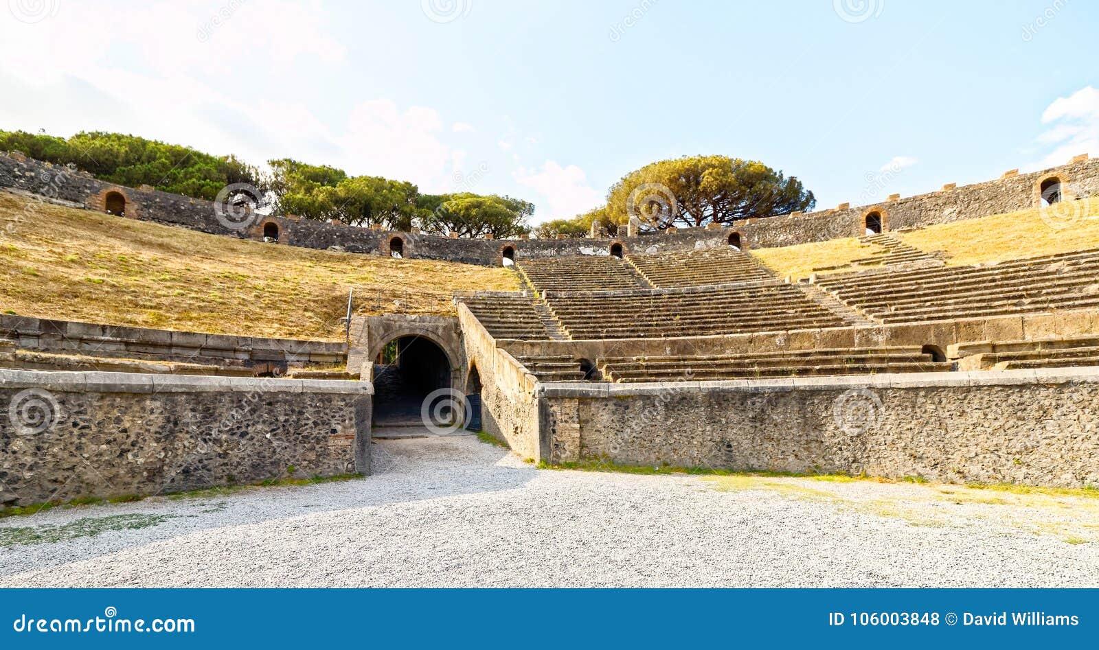 Αμφιθέατρο της Πομπηίας, Νάπολη, Ιταλία