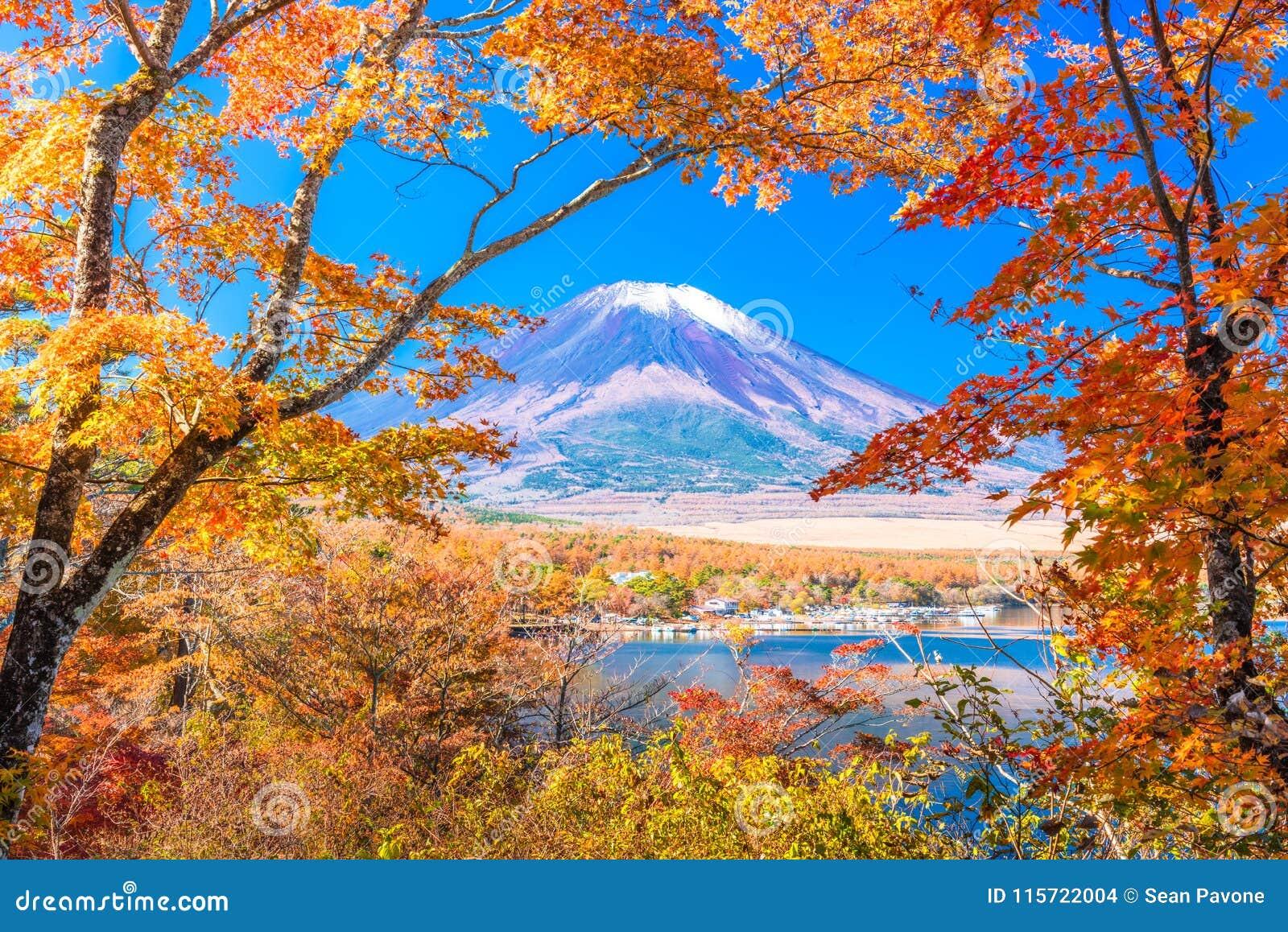 ΑΜ Τοπίο φθινοπώρου του Φούτζι, Ιαπωνία