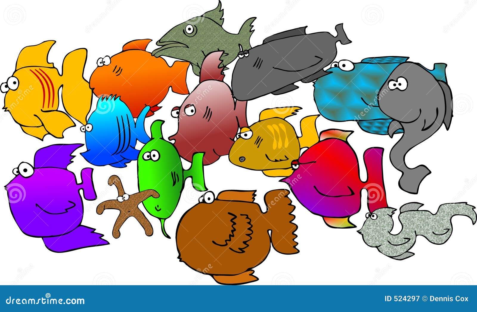 ανάμεικτα ψάρια