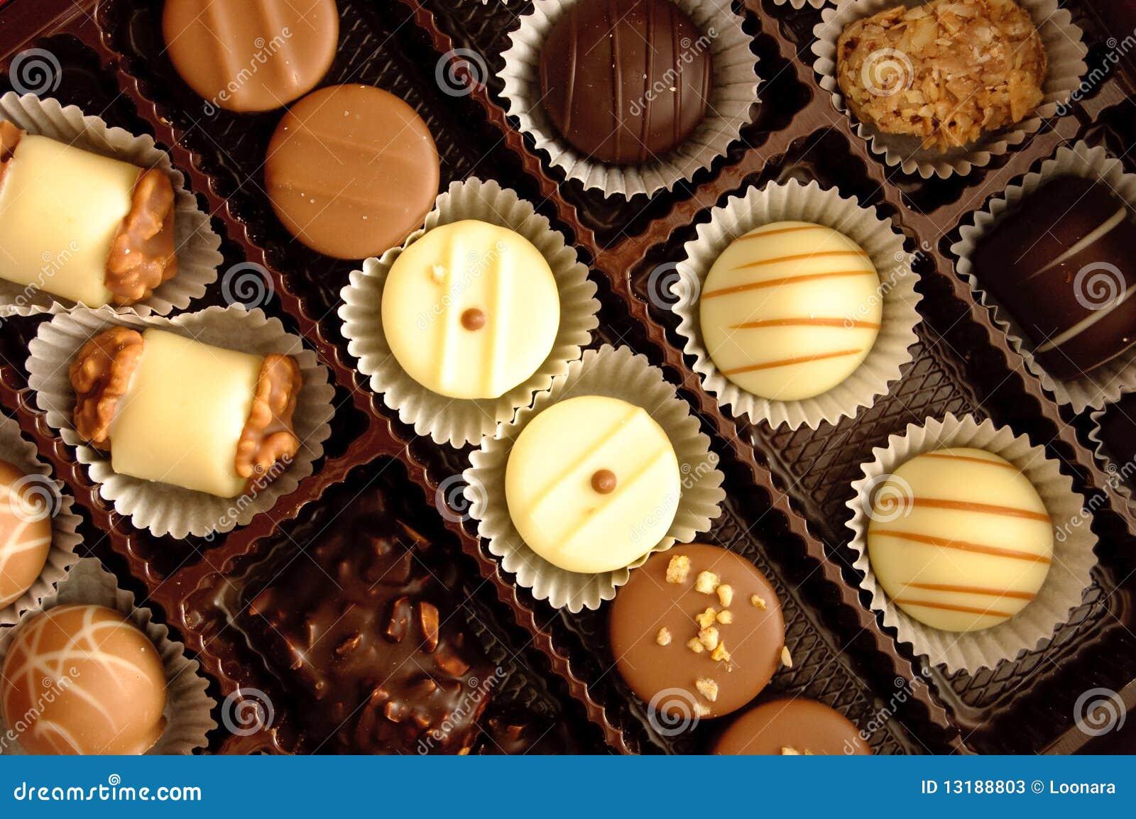 ανάμεικτες σοκολάτες