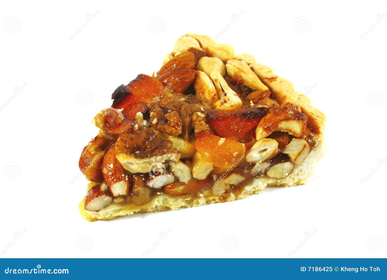 ανάμεικτη πίτα πεκάν καρυδιών καραμέλας