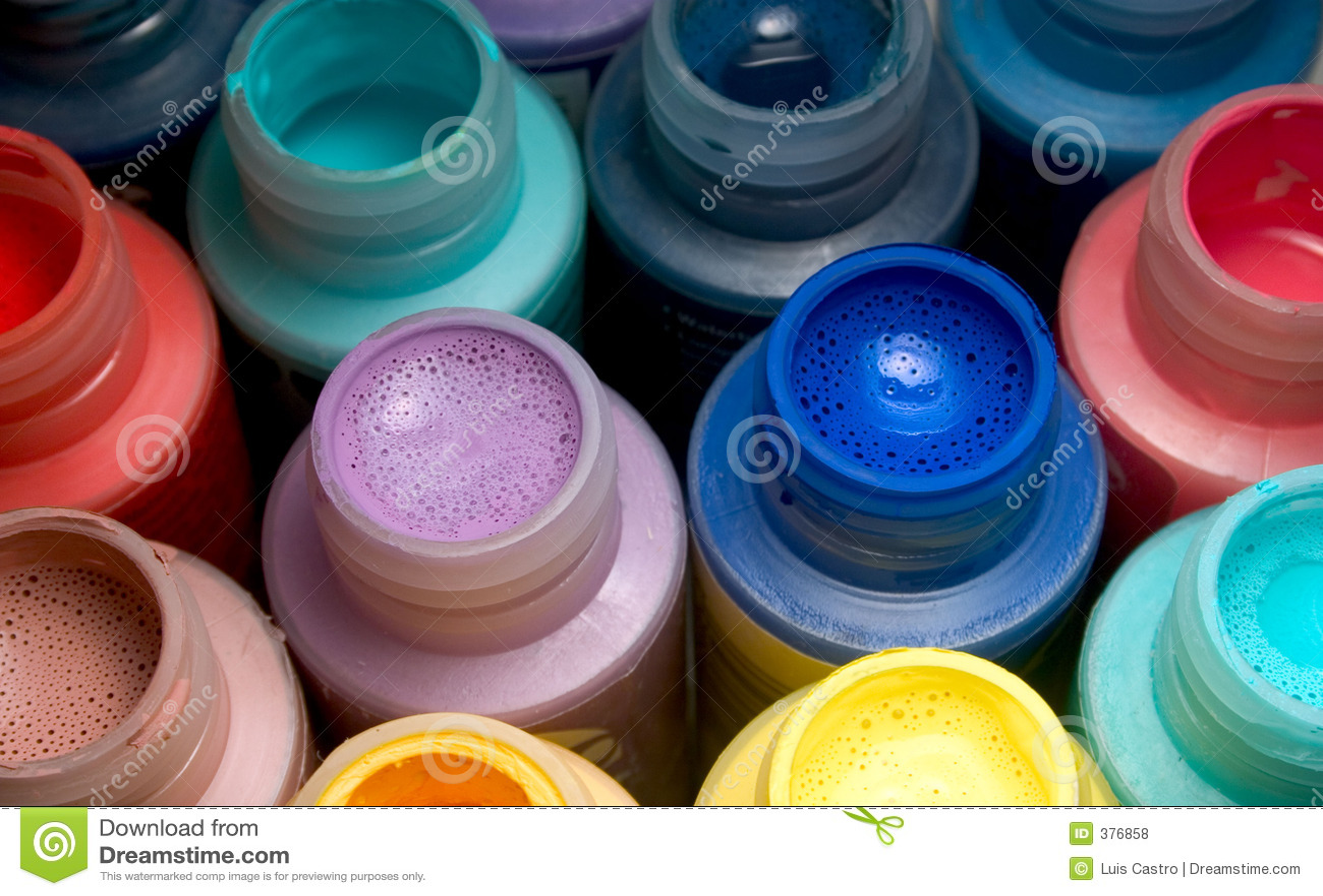 ανάμεικτο χρώμα μπουκαλιών