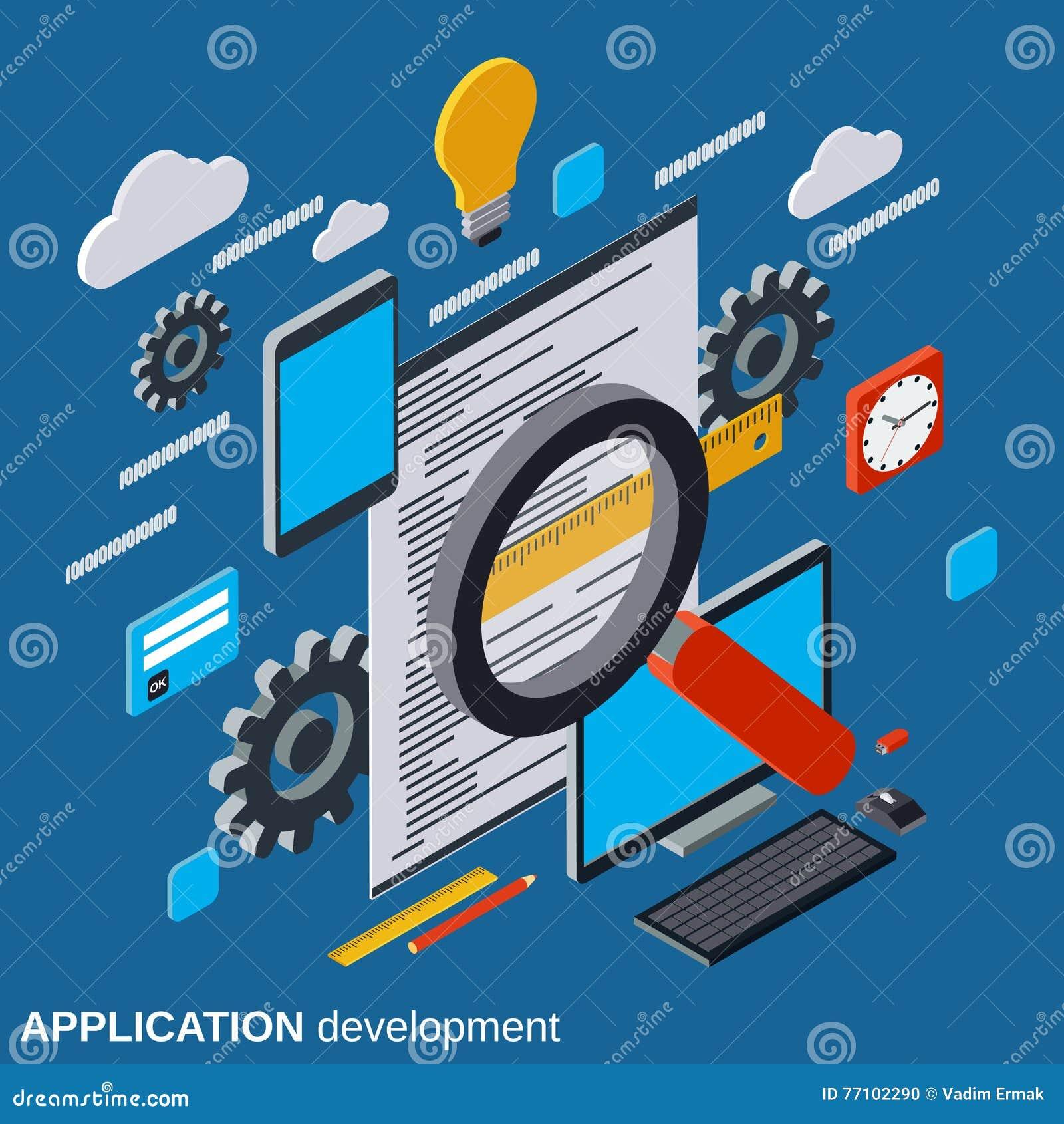 Ανάπτυξη εφαρμογών, κωδικοποίηση προγράμματος, λογισμικό που εξετάζει τη διανυσματική έννοια
