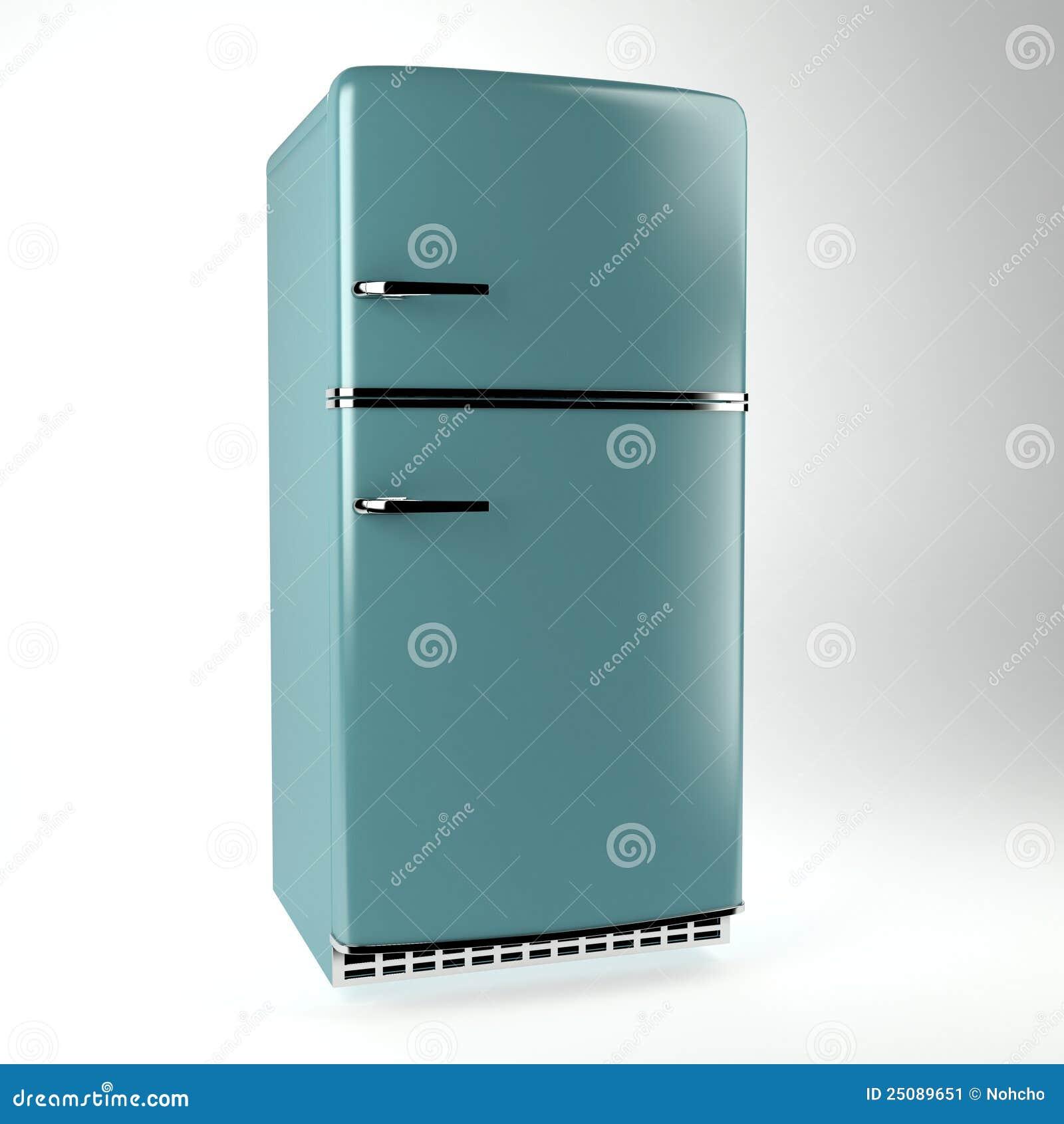 αναδρομική πλάγια όψη ψυγείων