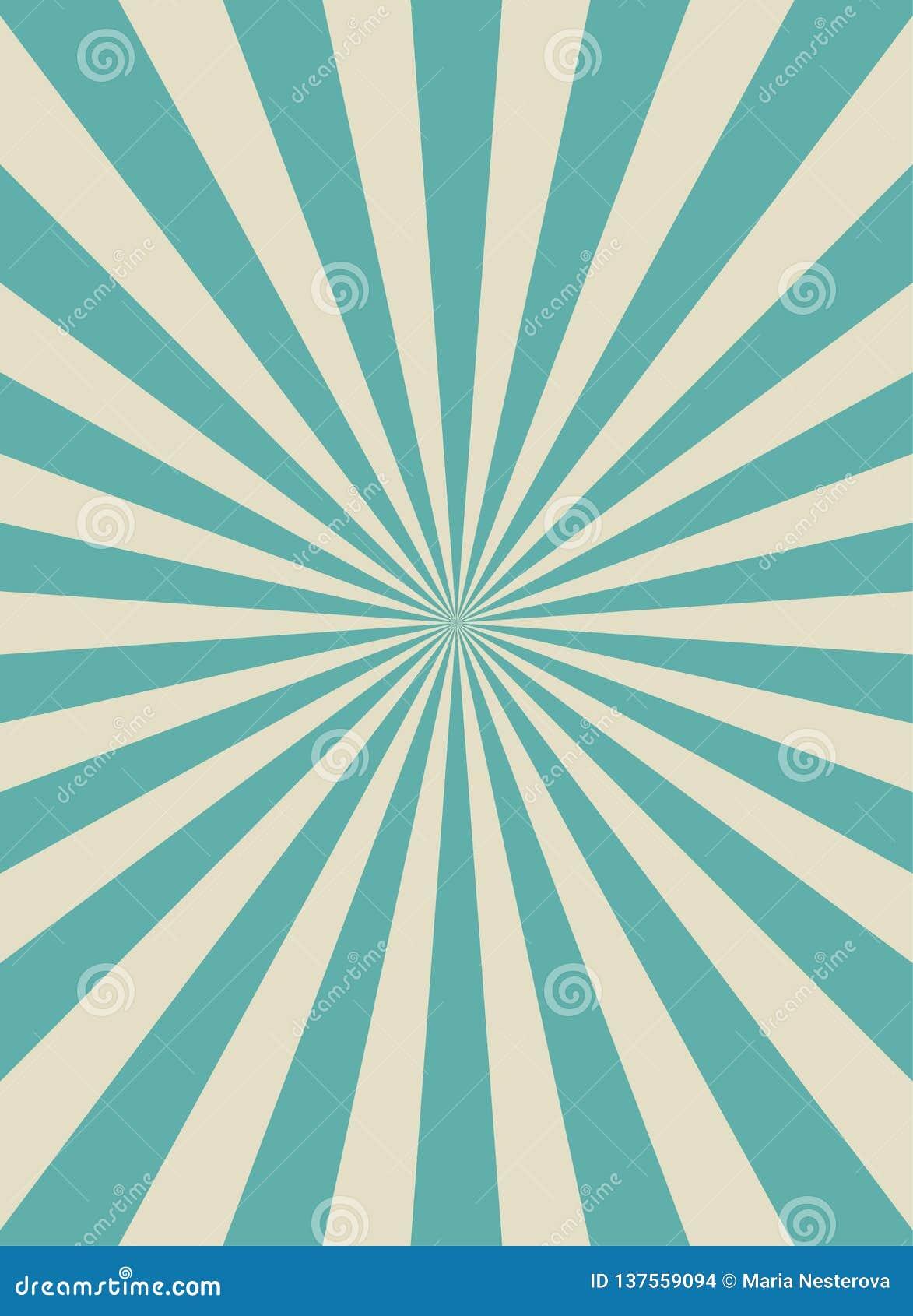 Αναδρομικό στενό κάθετο υπόβαθρο φωτός του ήλιου Χλωμός - μπλε και μπεζ υπόβαθρο έκρηξης χρώματος