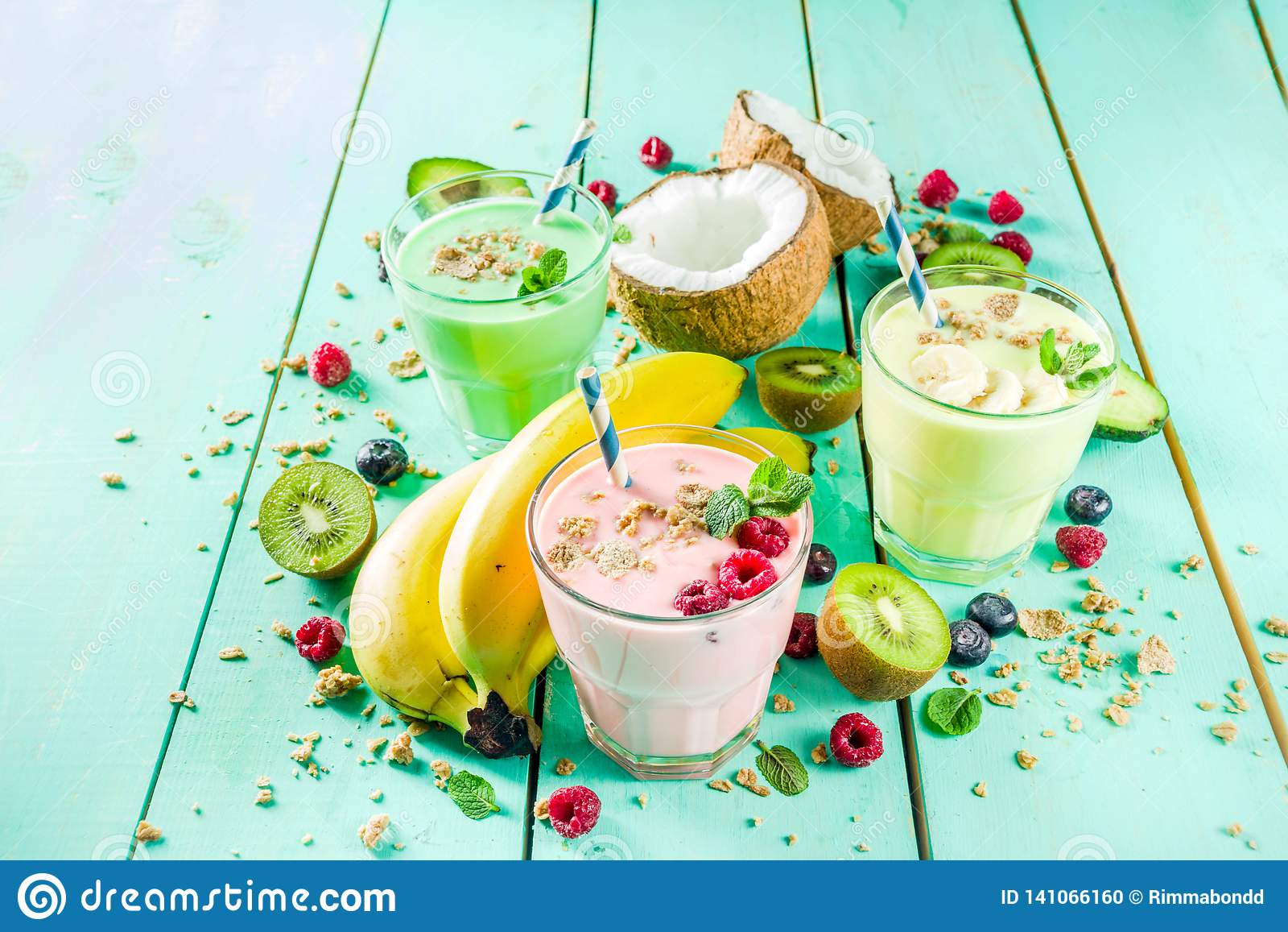 Αναζωογόνηση milkshakes ή καταφερτζήδες