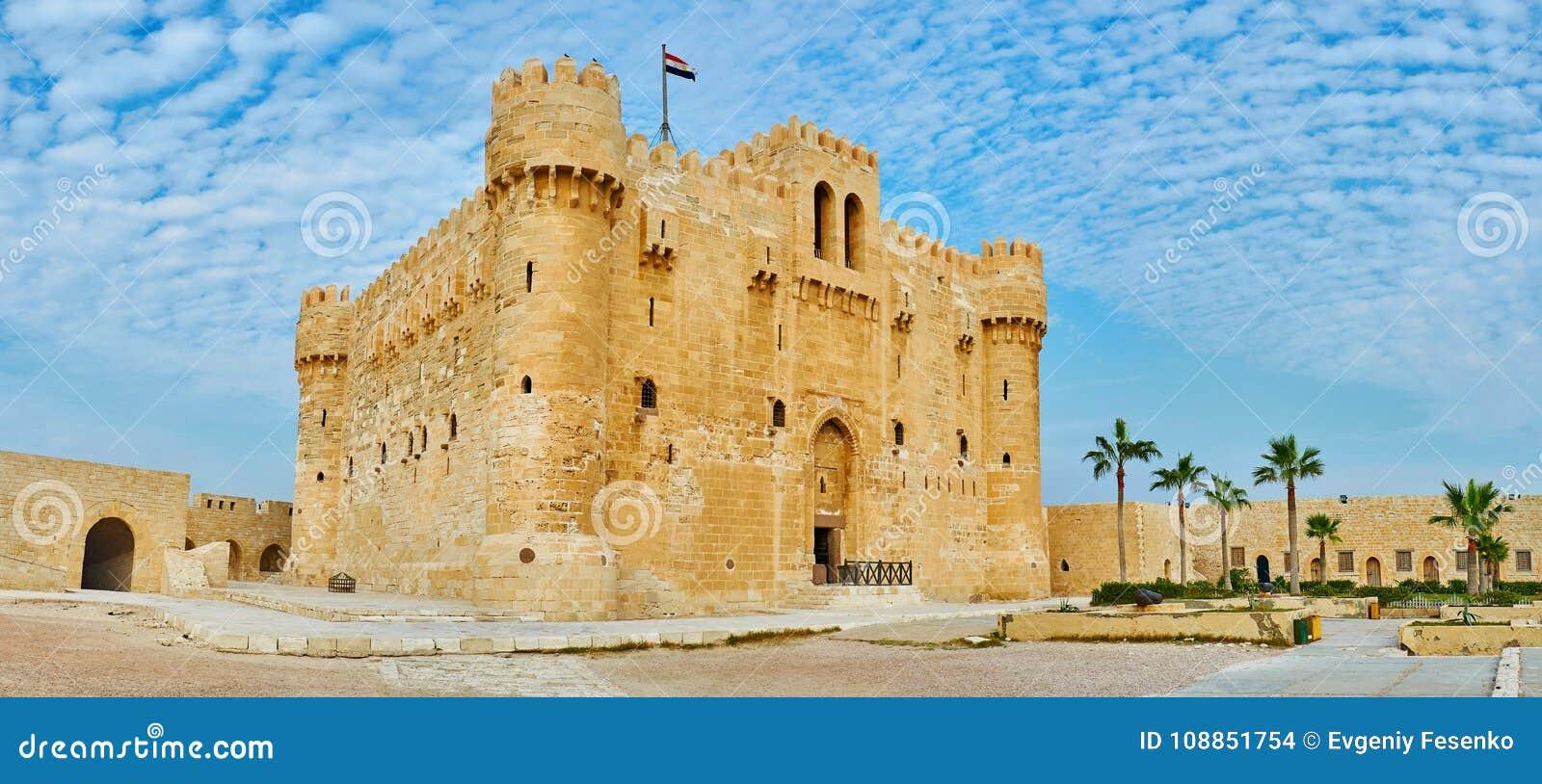 Ανακαλύψτε τη μεσαιωνική ακρόπολη της Αλεξάνδρειας, Αίγυπτος