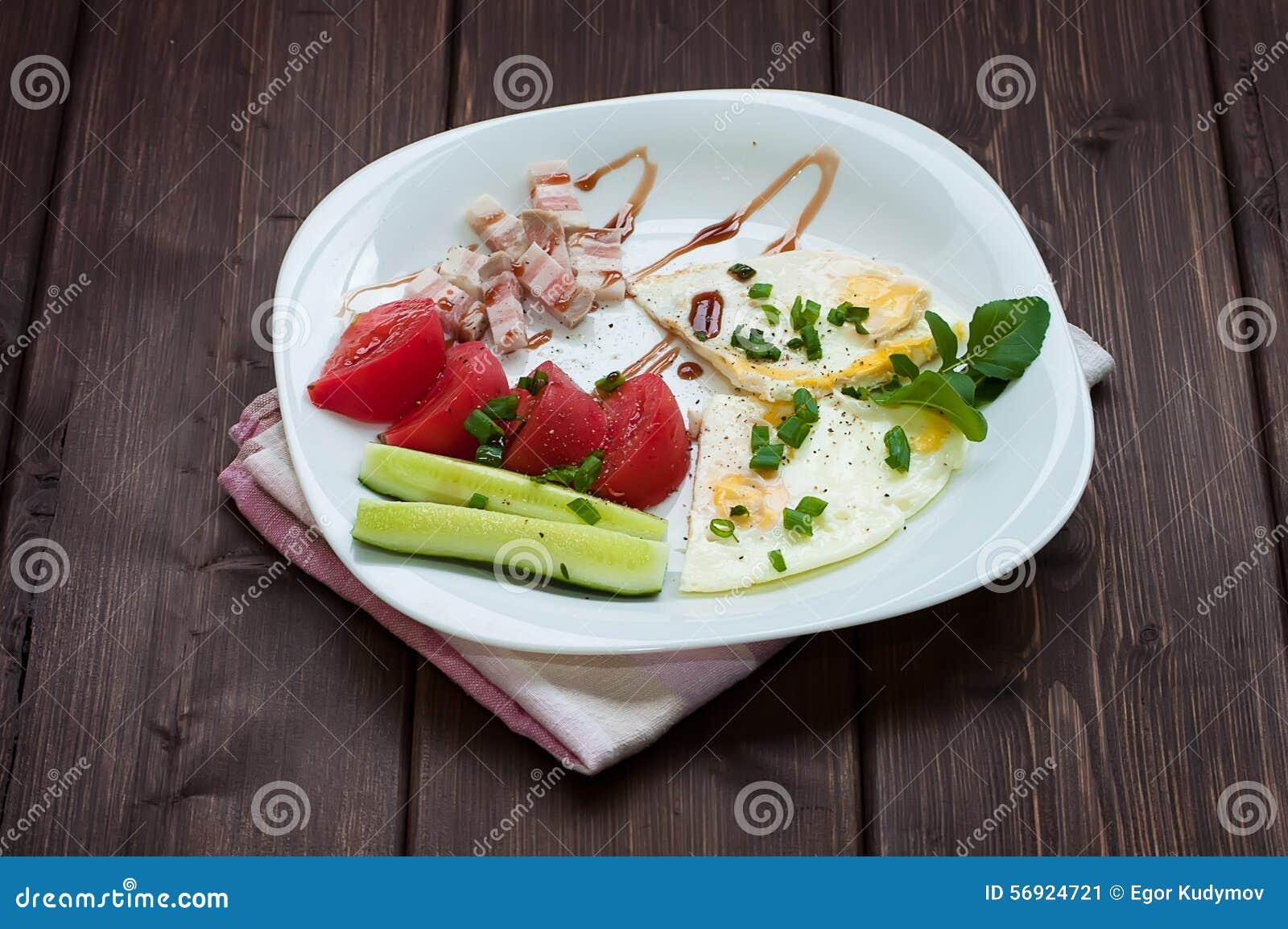 Ανακατωμένα αυγά και λαχανικά