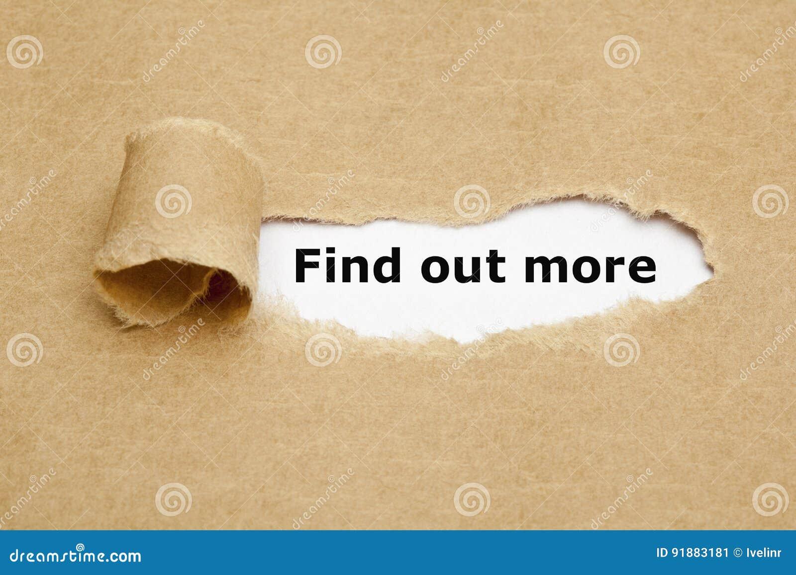 Ανακαλύψτε περισσότερη σχισμένη έννοια εγγράφου