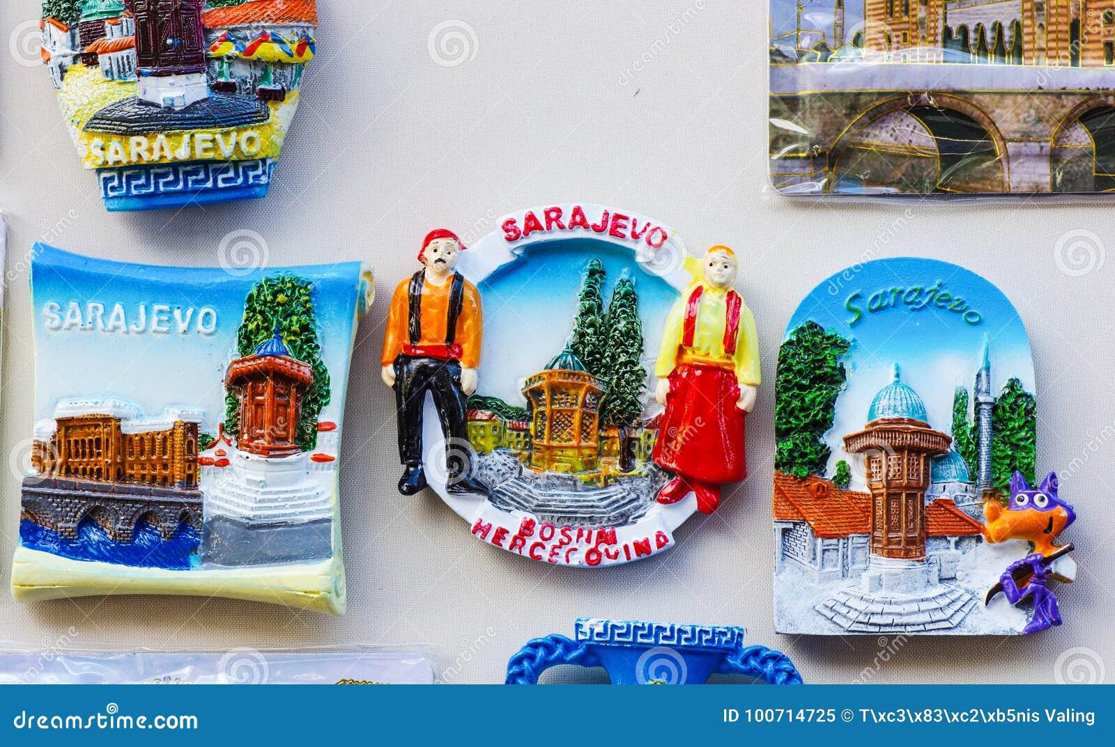 Αναμνηστικά του Σαράγεβου για την πώληση