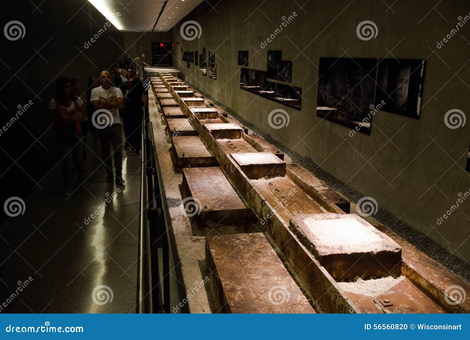 Download 9 11 αναμνηστικό μουσείο Νέα Υόρκη Εκδοτική εικόνα - εικόνα από χάλυβας, εμπόριο: 56560820