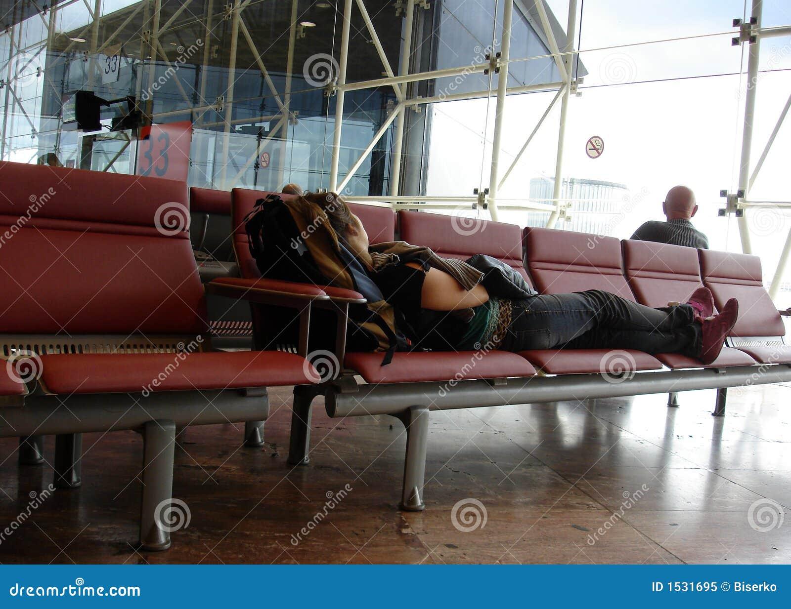 αναμονή επιβατών αεροπλάνων