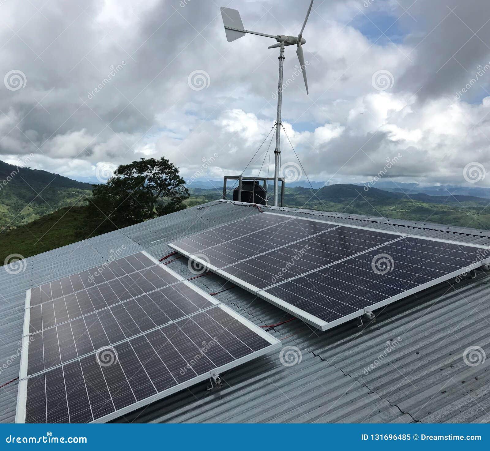 Ανανεώσιμη ενέργεια Eolical + ηλιακός