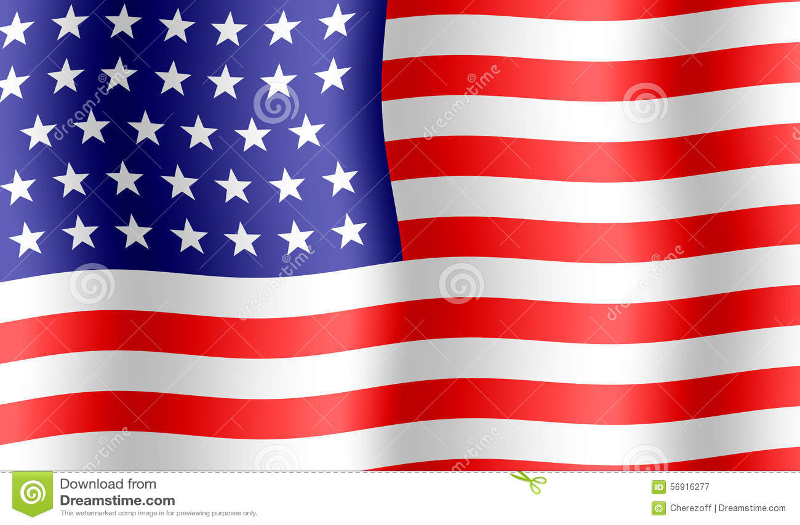 Ανασκόπηση αμερικανικών σημαιών