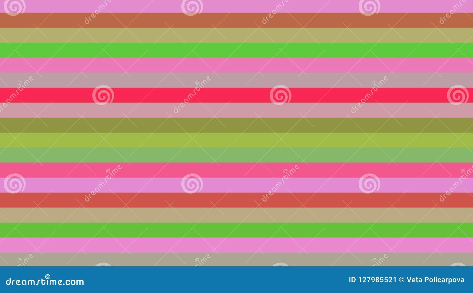 Ανασκόπηση με τις γραμμές χρώματος Διαφορετικές σκιές και πάχος