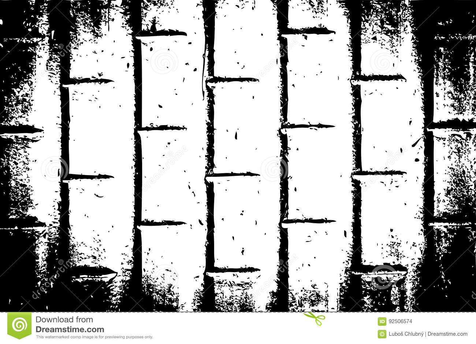 Ανασκόπηση Grunge Γραπτό αστικό διανυσματικό πρότυπο σύστασης Grunge