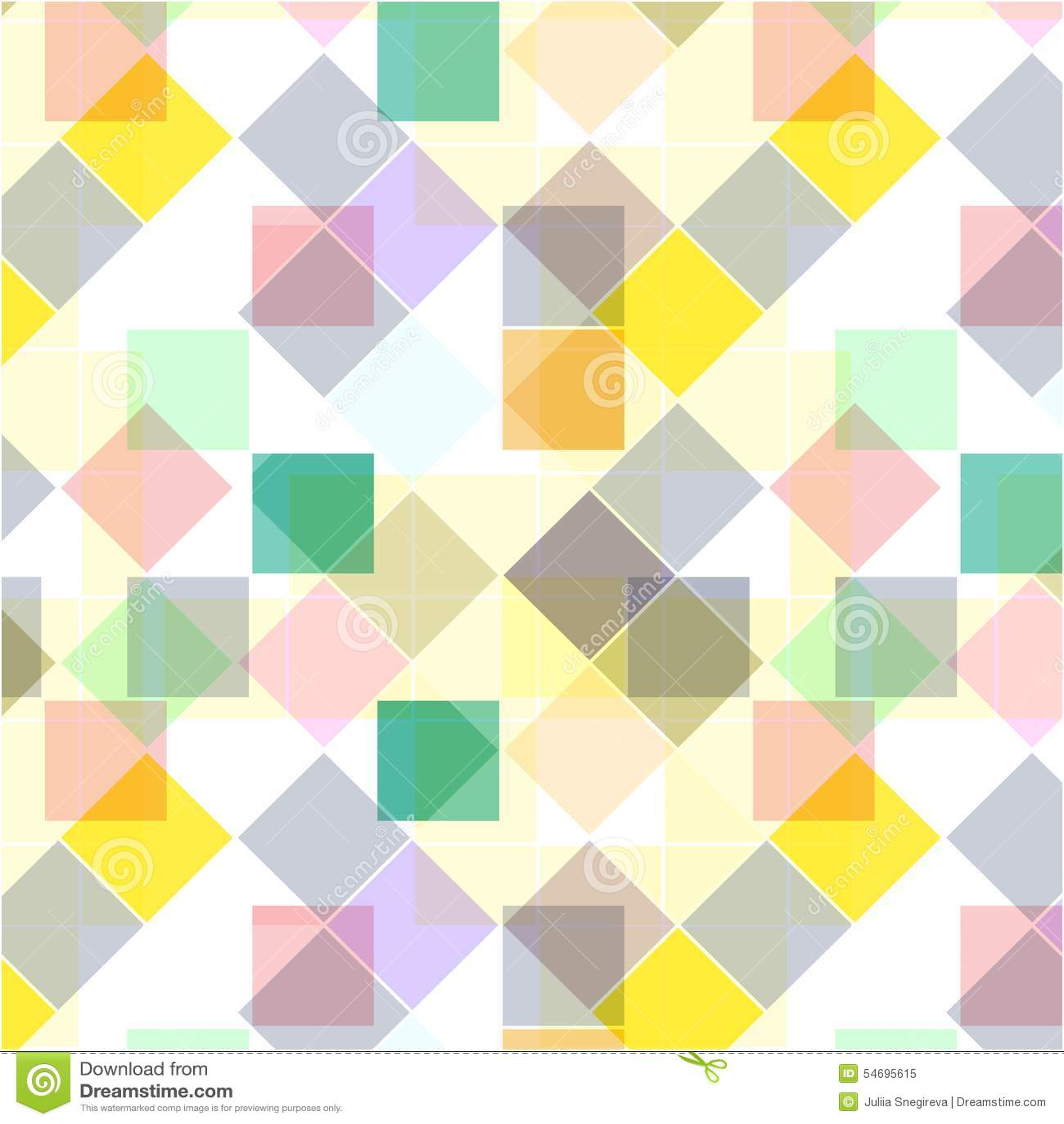 αναδρομικός άνευ ραφής προτύπων ζωηρόχρωμο μωσαϊκό εμβλημά&ta Επανάληψη των γεωμετρικών κεραμιδιών με το χρωματισμένο ρόμβο