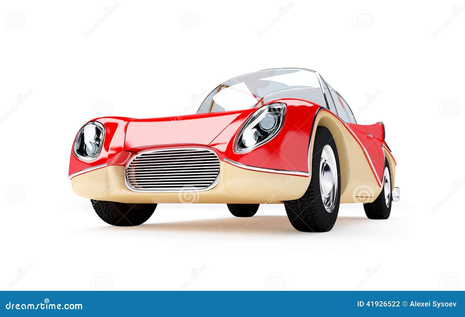 Αναδρομικό φουτουριστικό αυτοκίνητο 1960