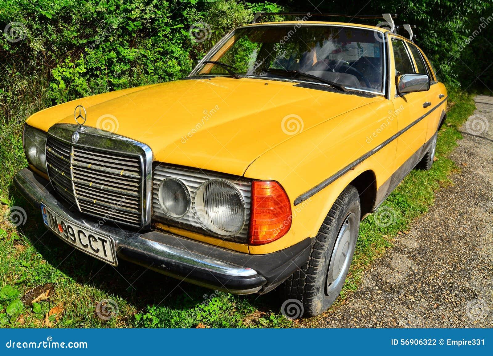 Αναδρομικό Benz της Mercedes
