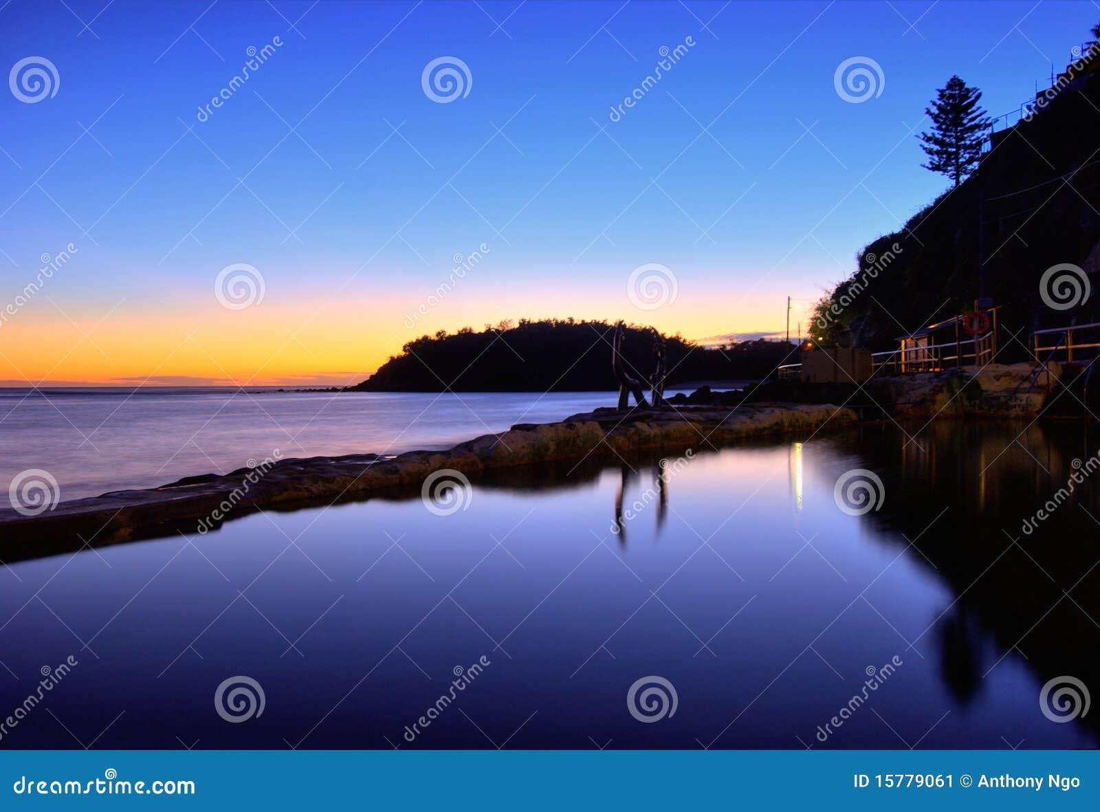 ανδρική λίμνη παραλιών της Α