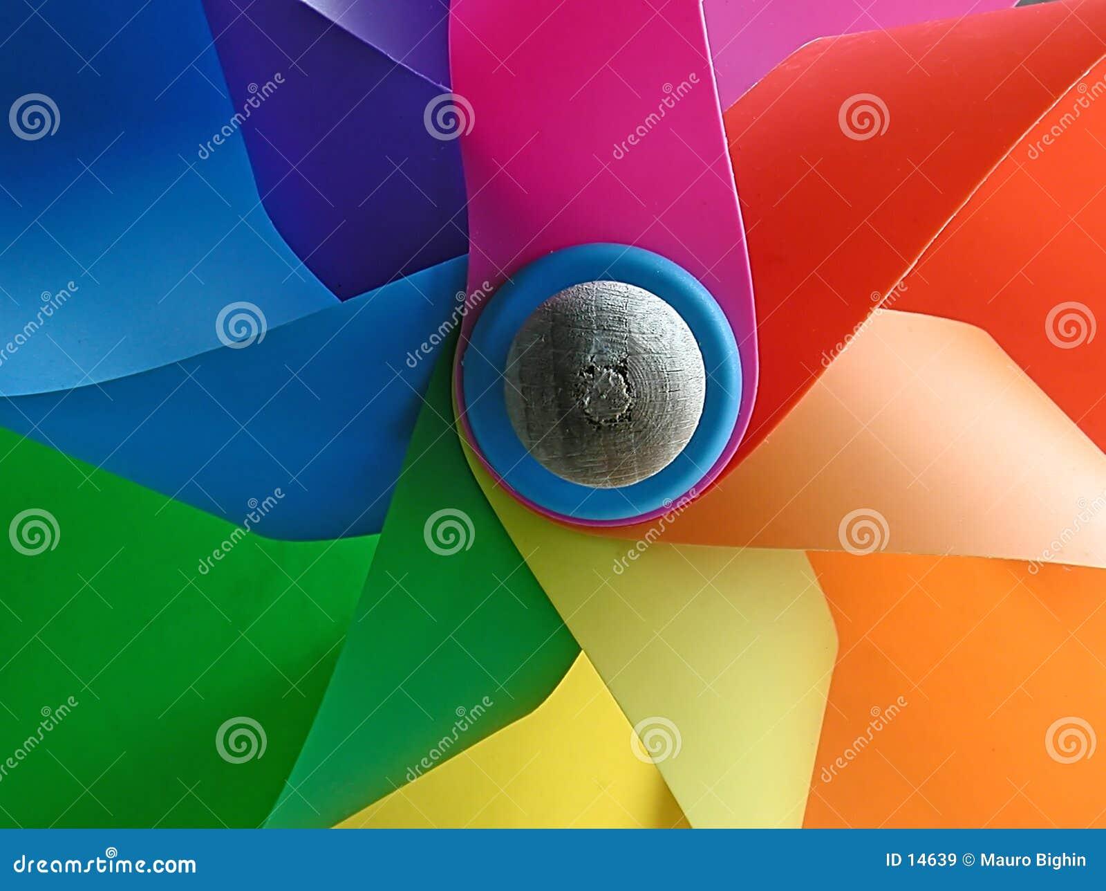 ανεμόμυλος χρωμάτων