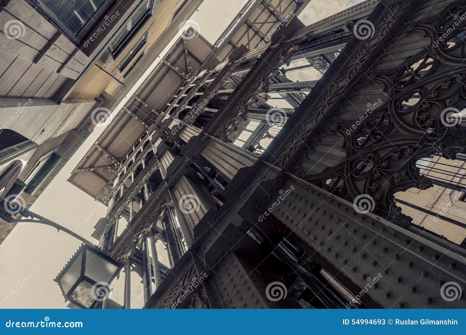 Ανελκυστήρας Justa Santa στη Λισσαβώνα