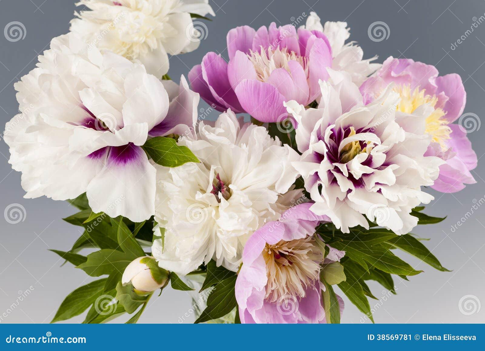 Ανθοδέσμη λουλουδιών Peony