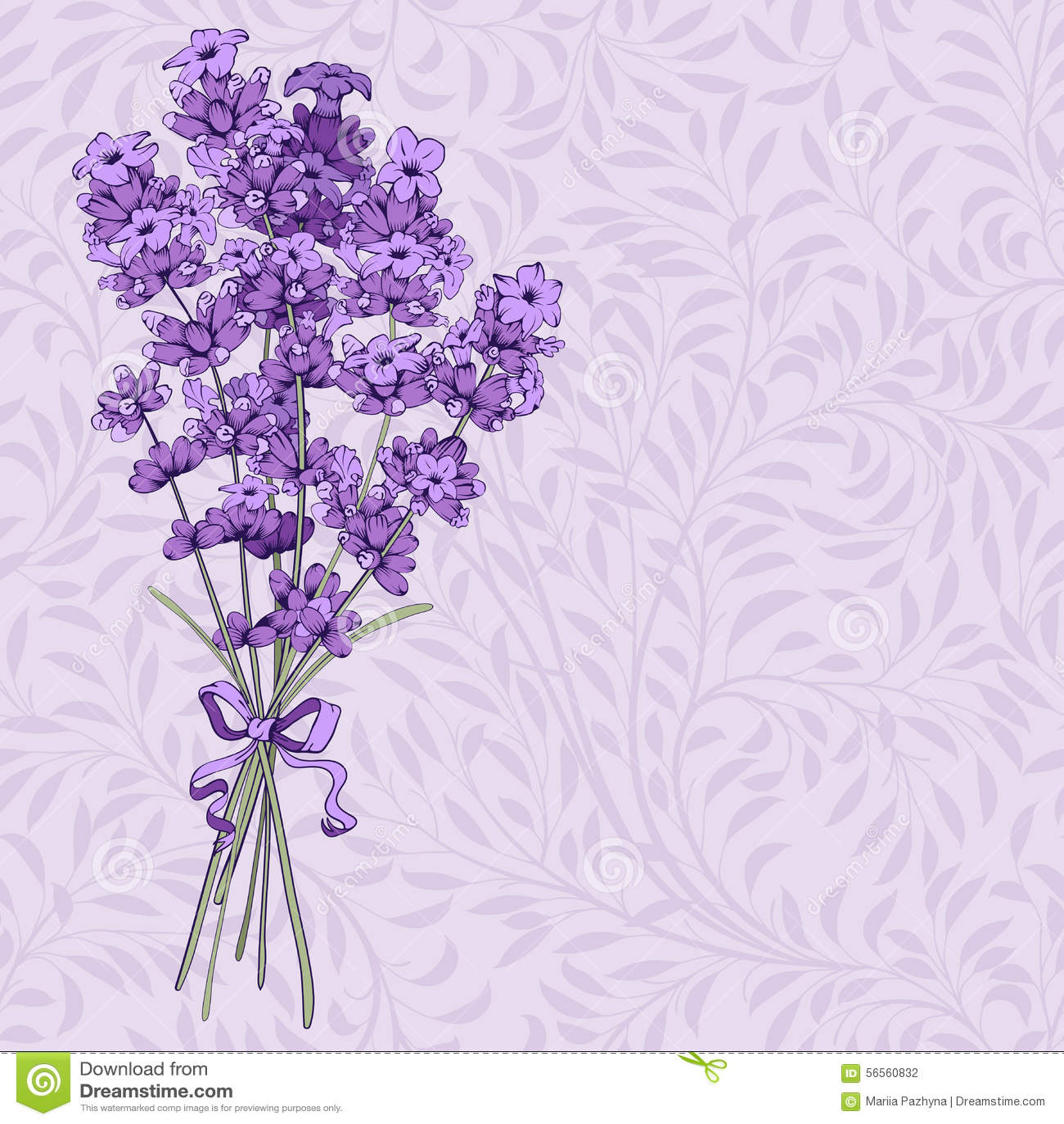 Download Ανθοδέσμη lavender διανυσματική απεικόνιση. εικονογραφία από φυσικός - 56560832