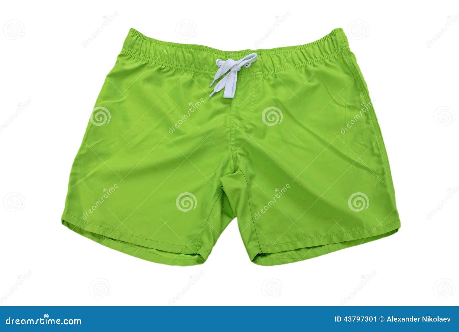 Ανθρώπινο σορτς ένδυσης †«πράσινα