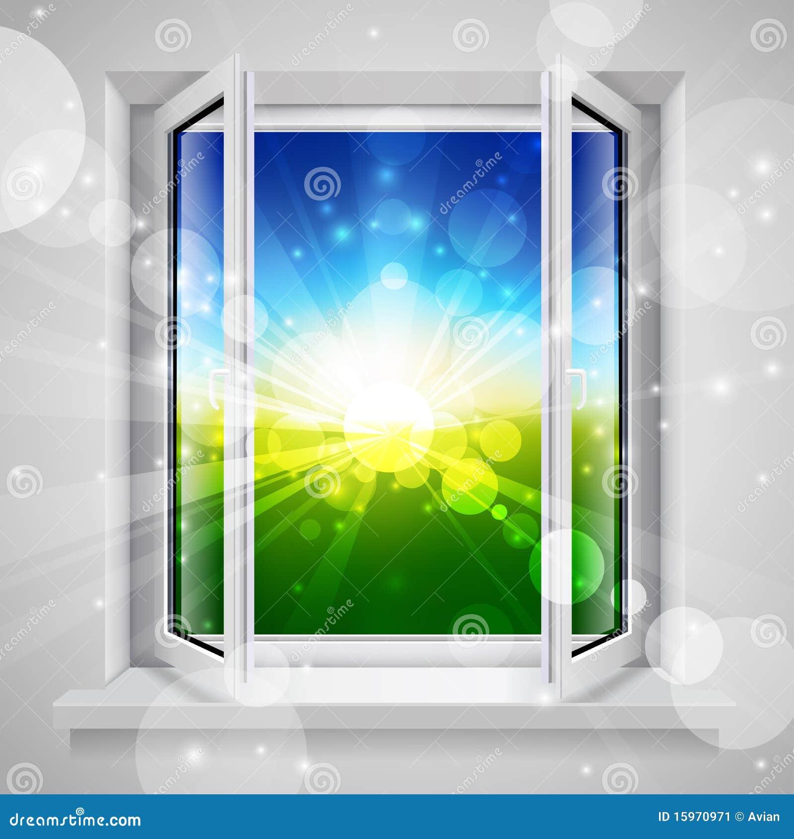 ανοιγμένο παράθυρο