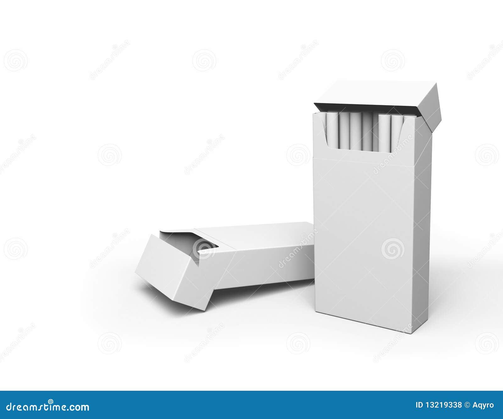 ανοικτά πακέτα τσιγάρων
