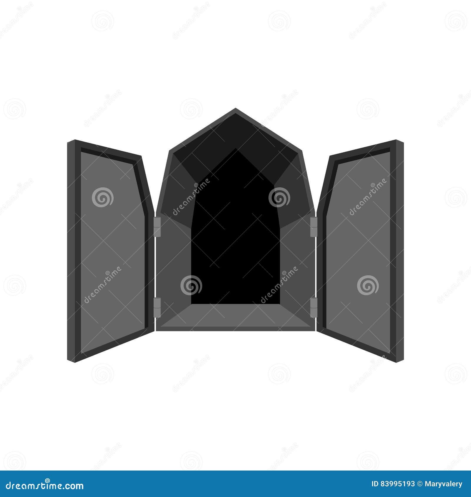 Ανοιχτές πόρτες που απομονώνονται κόλαση πορτών απελευθερώστε τα μαύρα παραθυρόφυλλα στο whi