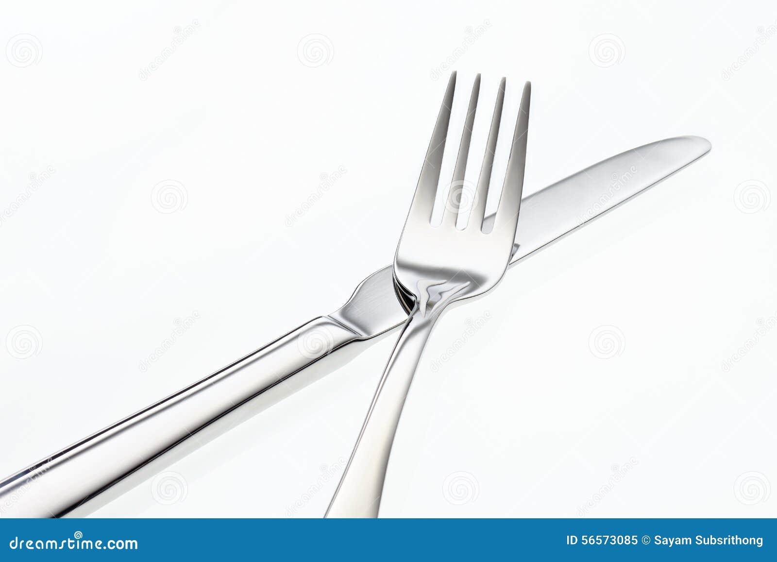 Download Ανοξείδωτα δίκρανο και μαχαίρι Στοκ Εικόνα - εικόνα από μαχαίρι, μαύρα: 56573085