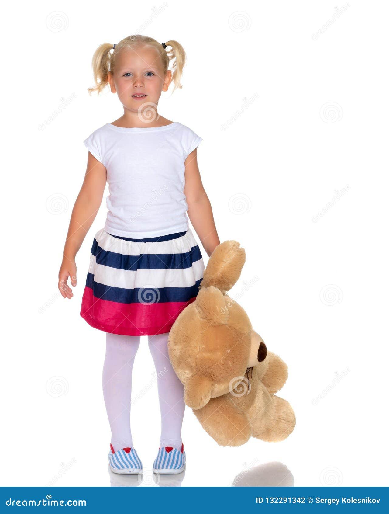 αντέξτε το κορίτσι λίγα teddy