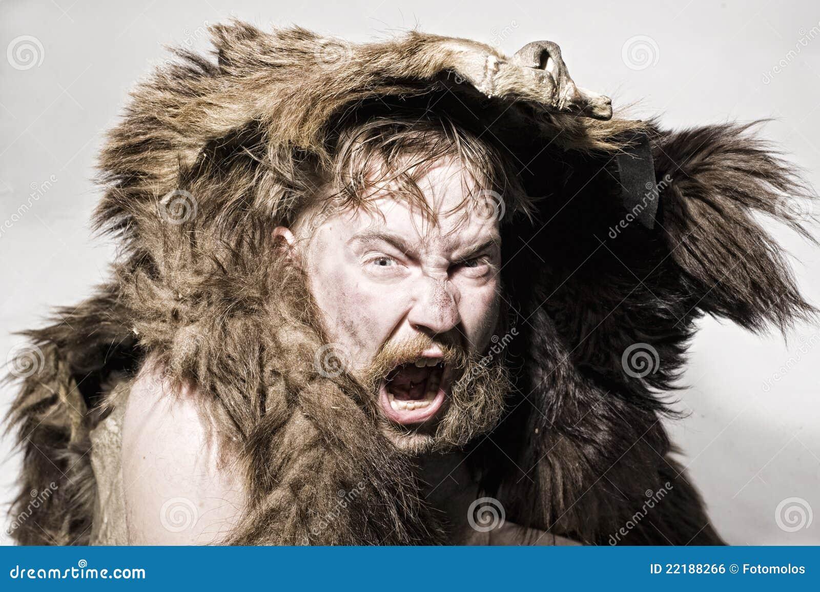 αντέξτε το caveman δέρμα
