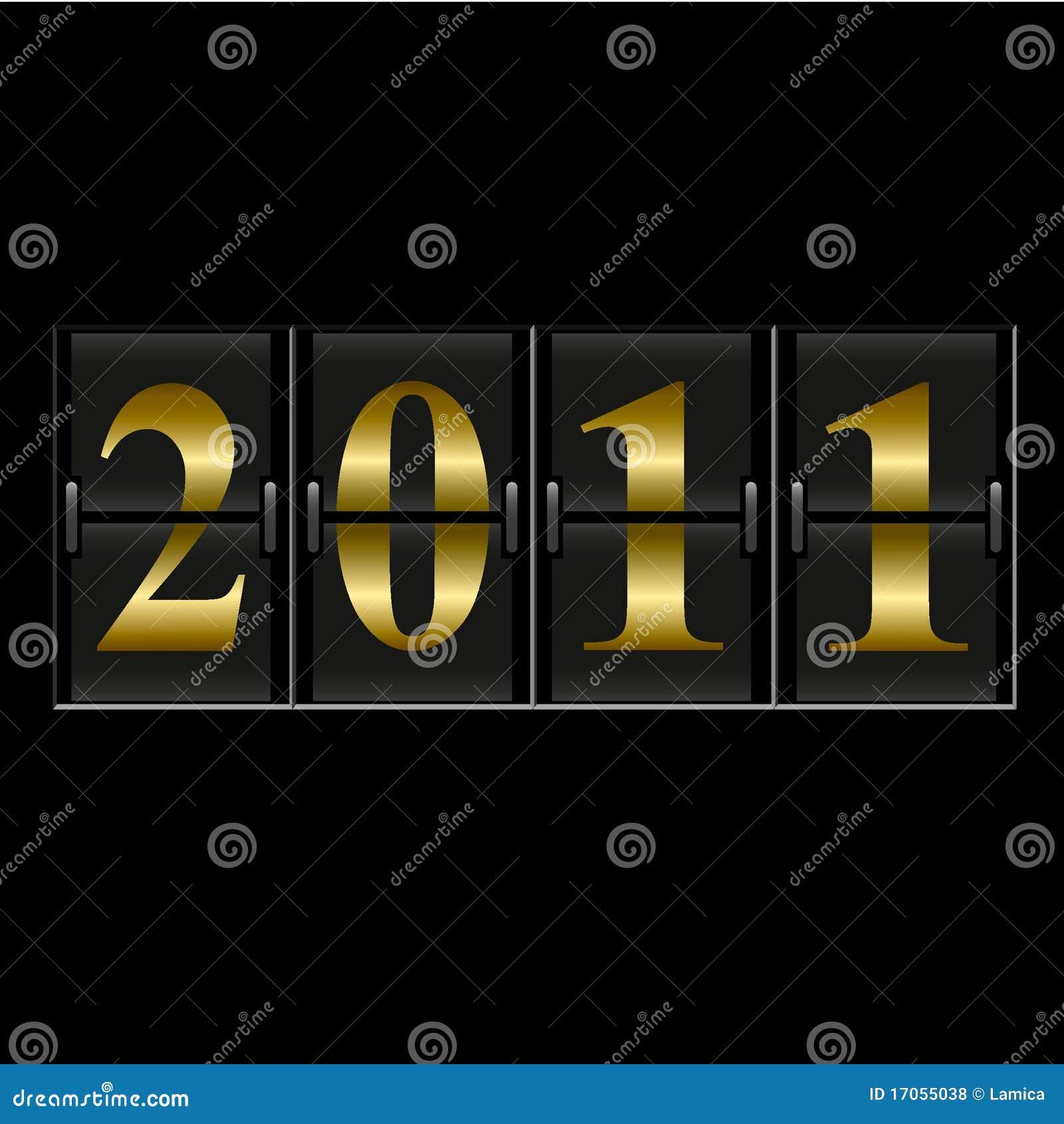 αντίθετο νέο έτος του 2011