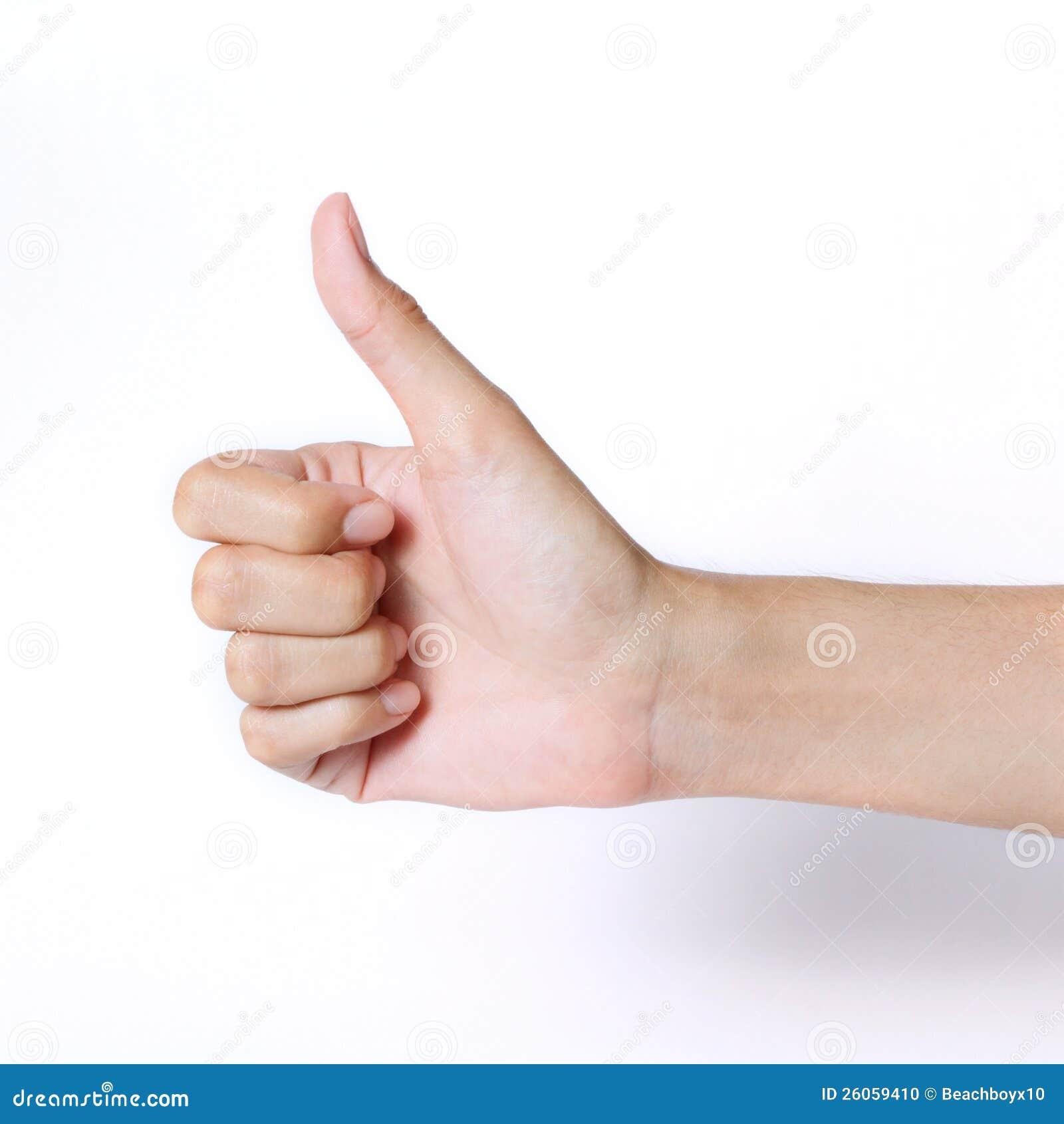 Αντίχειρας χεριών επάνω