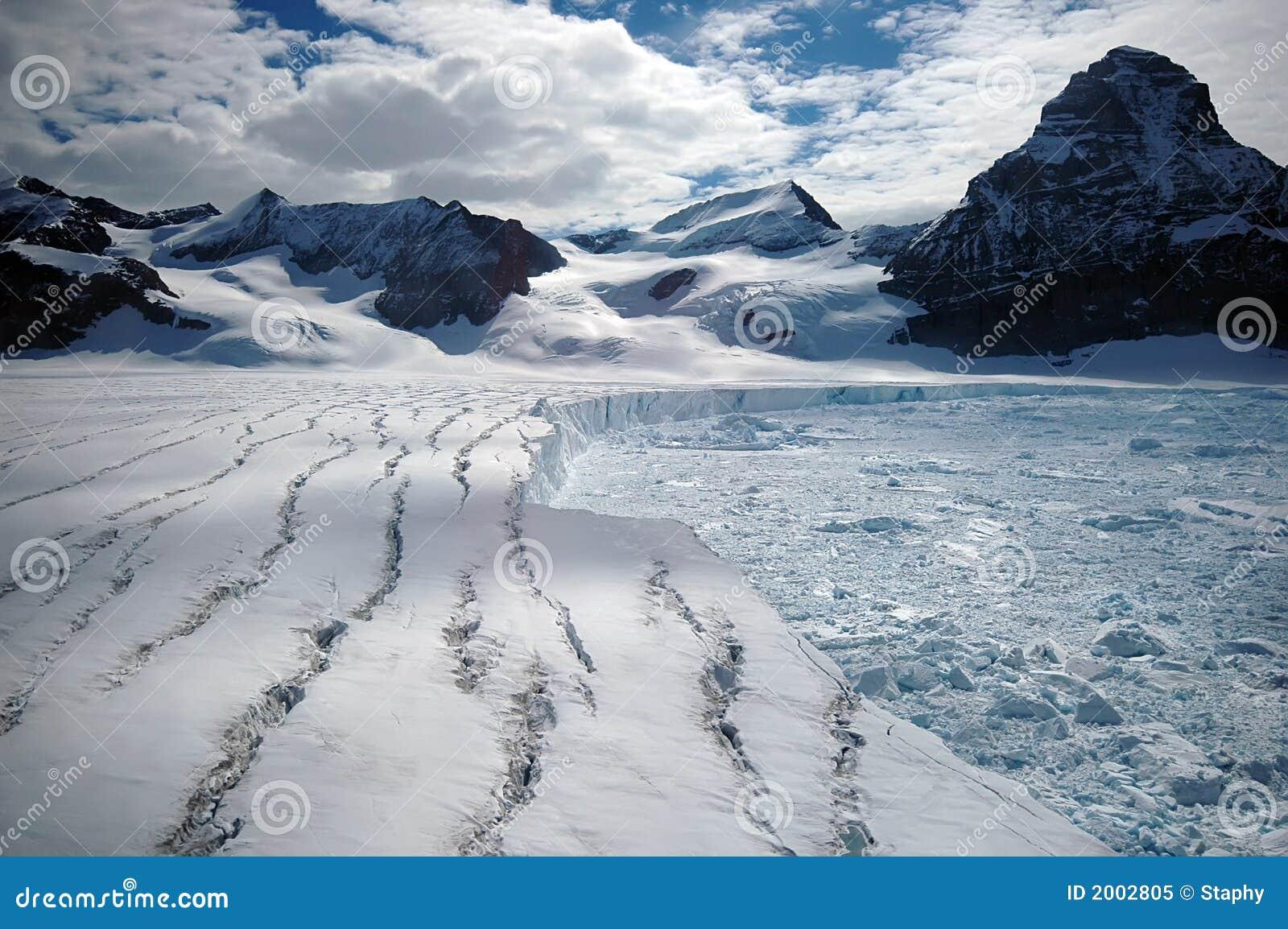 ανταρκτική τήξη παγετώνων