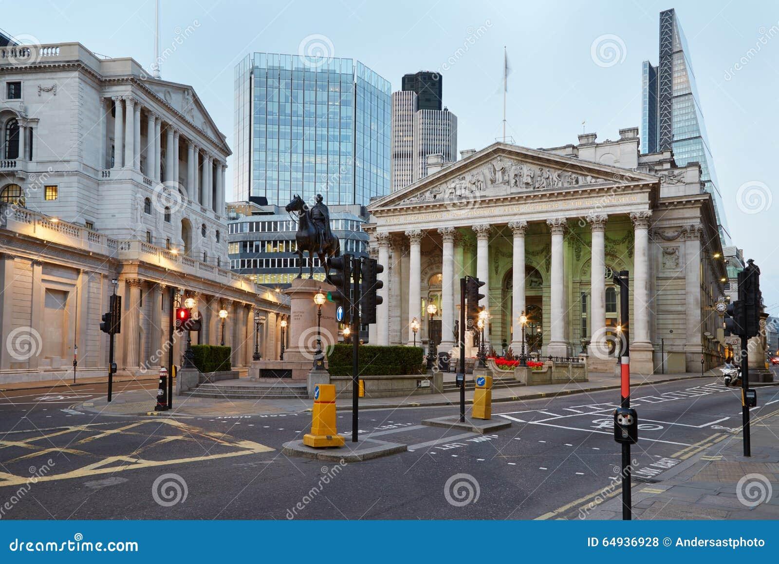 Ανταλλαγή και Τράπεζα της Αγγλίας του Λονδίνου βασιλική
