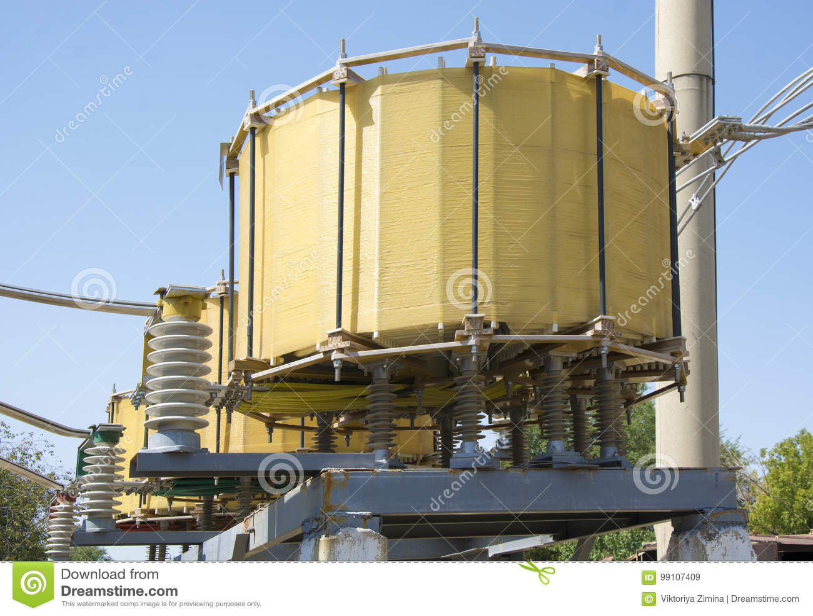 Αντιδραστήρας υψηλής τάσης