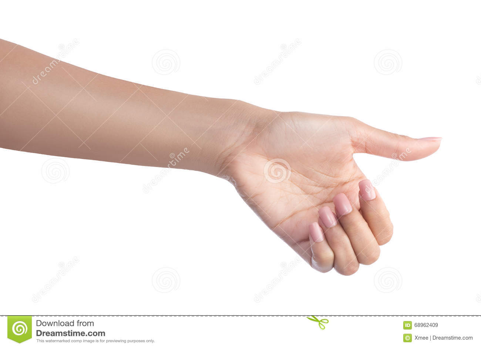 Αντικείμενο εκμετάλλευσης χεριών χειρονομίας γυναικών