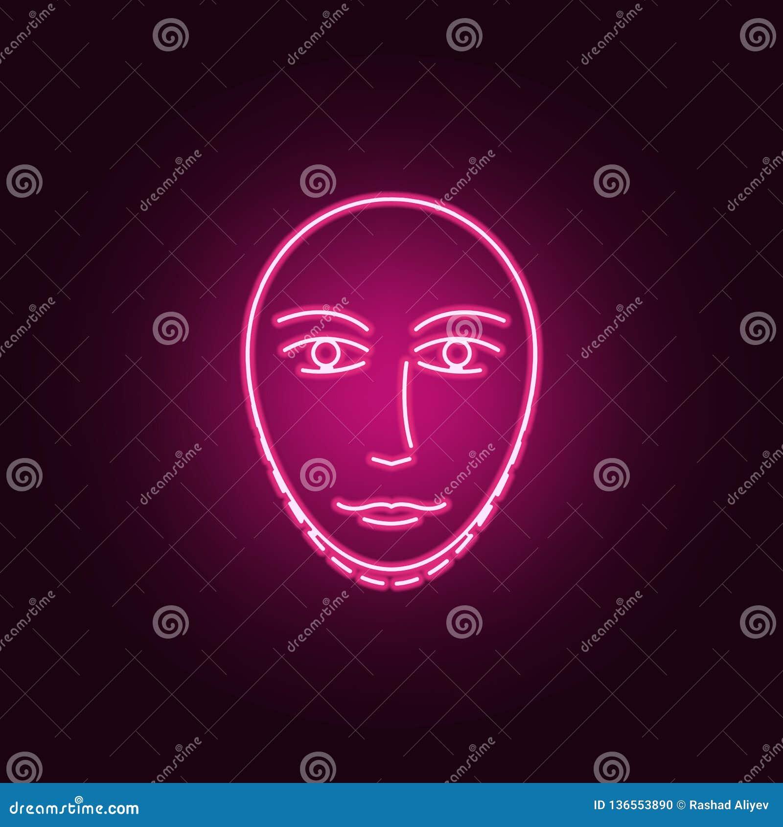 Αντι εικονίδιο χειρουργικών επεμβάσεων λαιμών γήρανσης Στοιχεία των αντι agies στα εικονίδια ύφους νέου Απλό εικονίδιο για τους ι