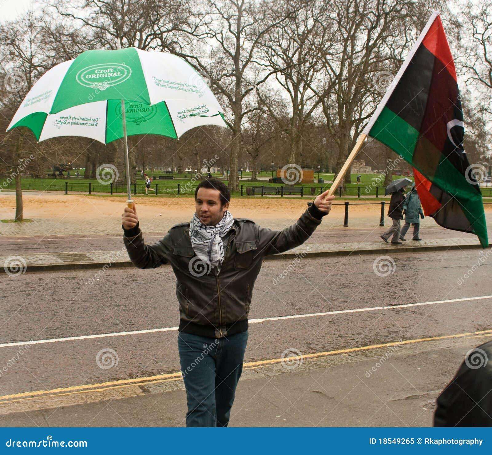 αντι gaddafi Λονδίνο επιδεικν&ups