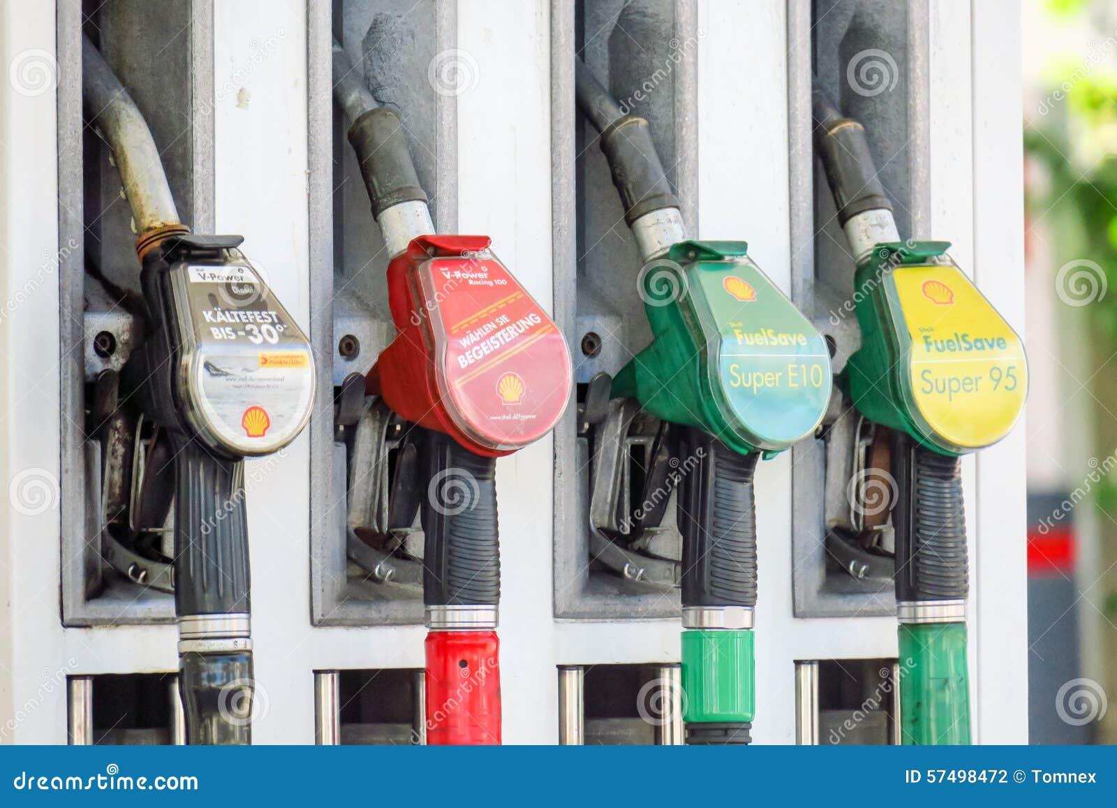 Αντλία βενζίνης της Shell