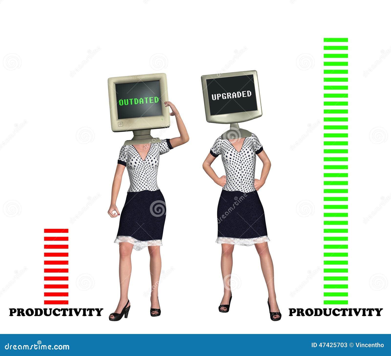 Απεικόνιση έννοιας αποδοτικότητας παραγωγικότητας εργατικού δυναμικού