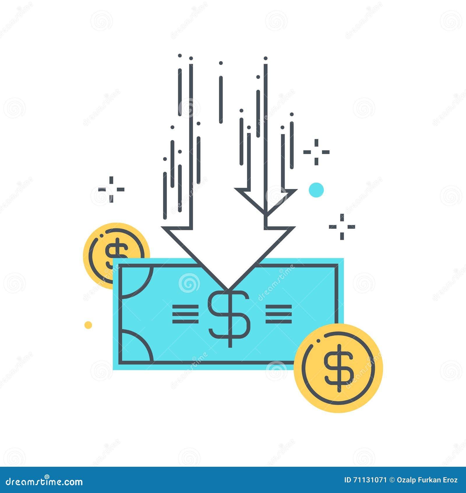 Απεικόνιση έννοιας περικοπών προϋπολογισμού