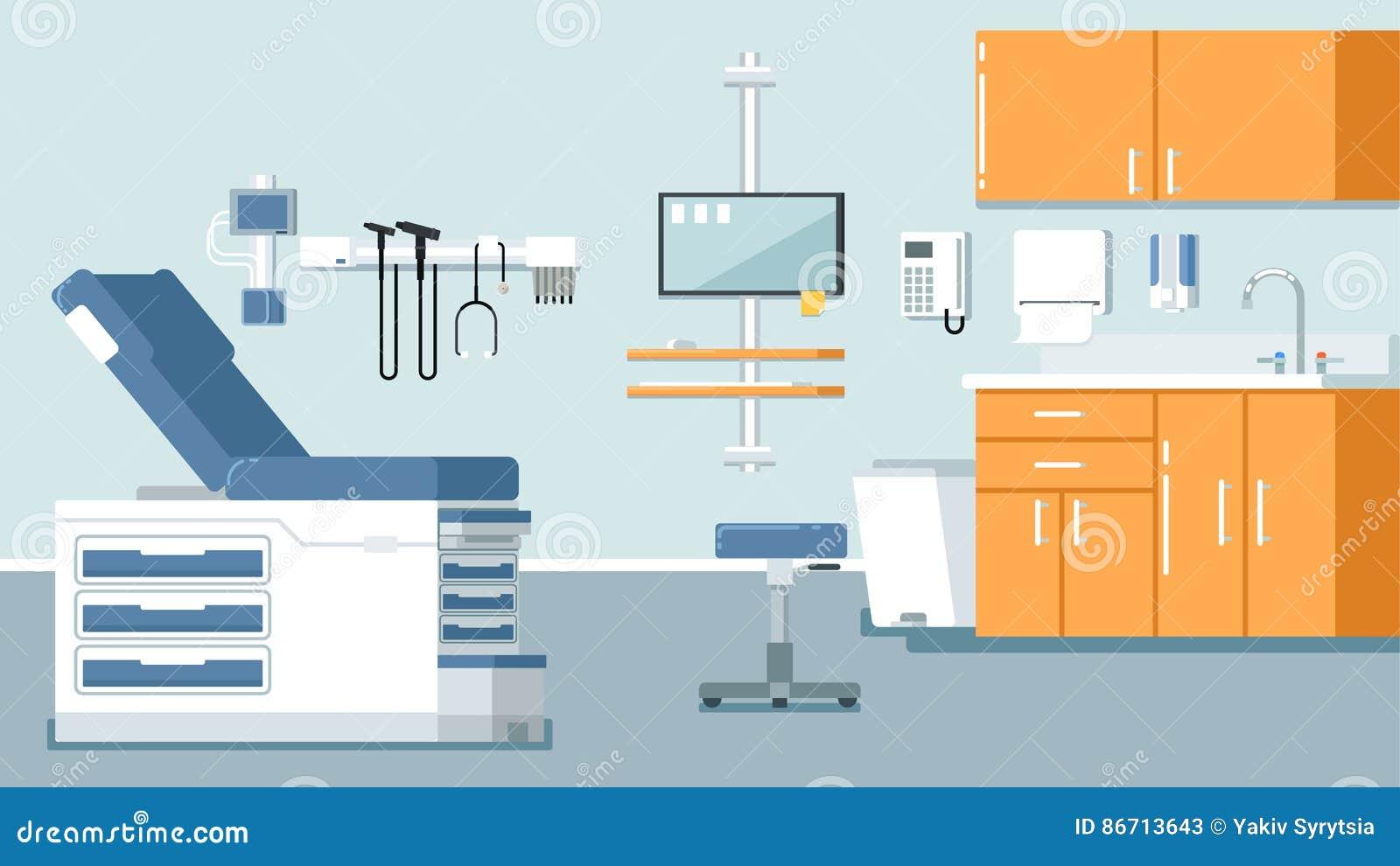 Απεικόνιση γραφείων γιατρών s