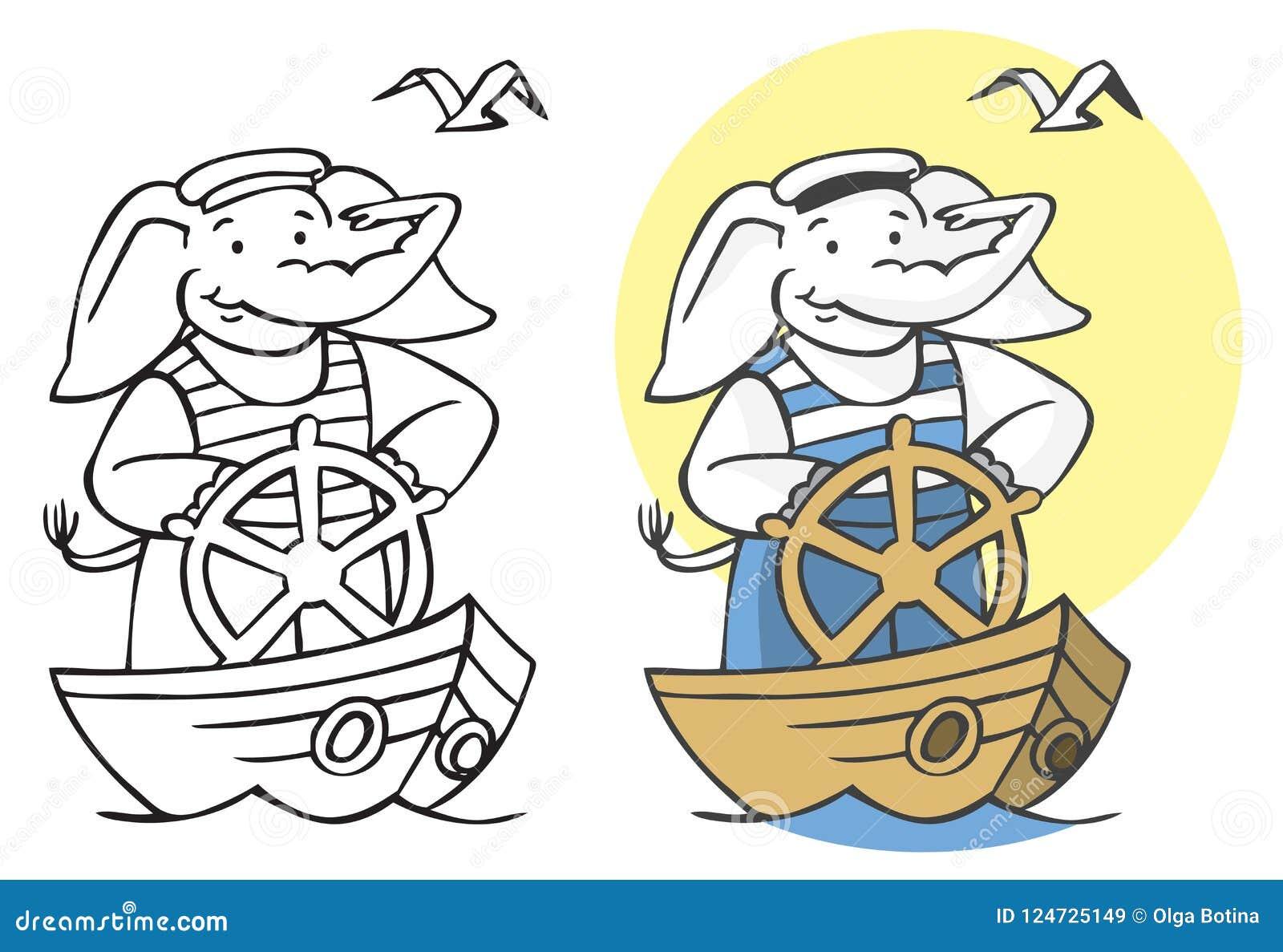 Απεικόνιση ναυτικών ελεφάντων