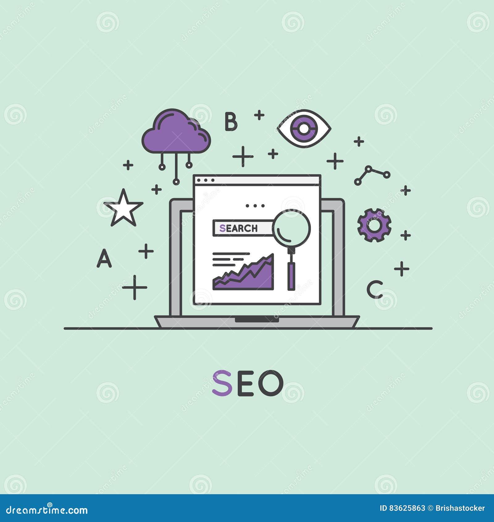 Απεικόνιση της διαδικασίας βελτιστοποίησης μηχανών αναζήτησης SEO