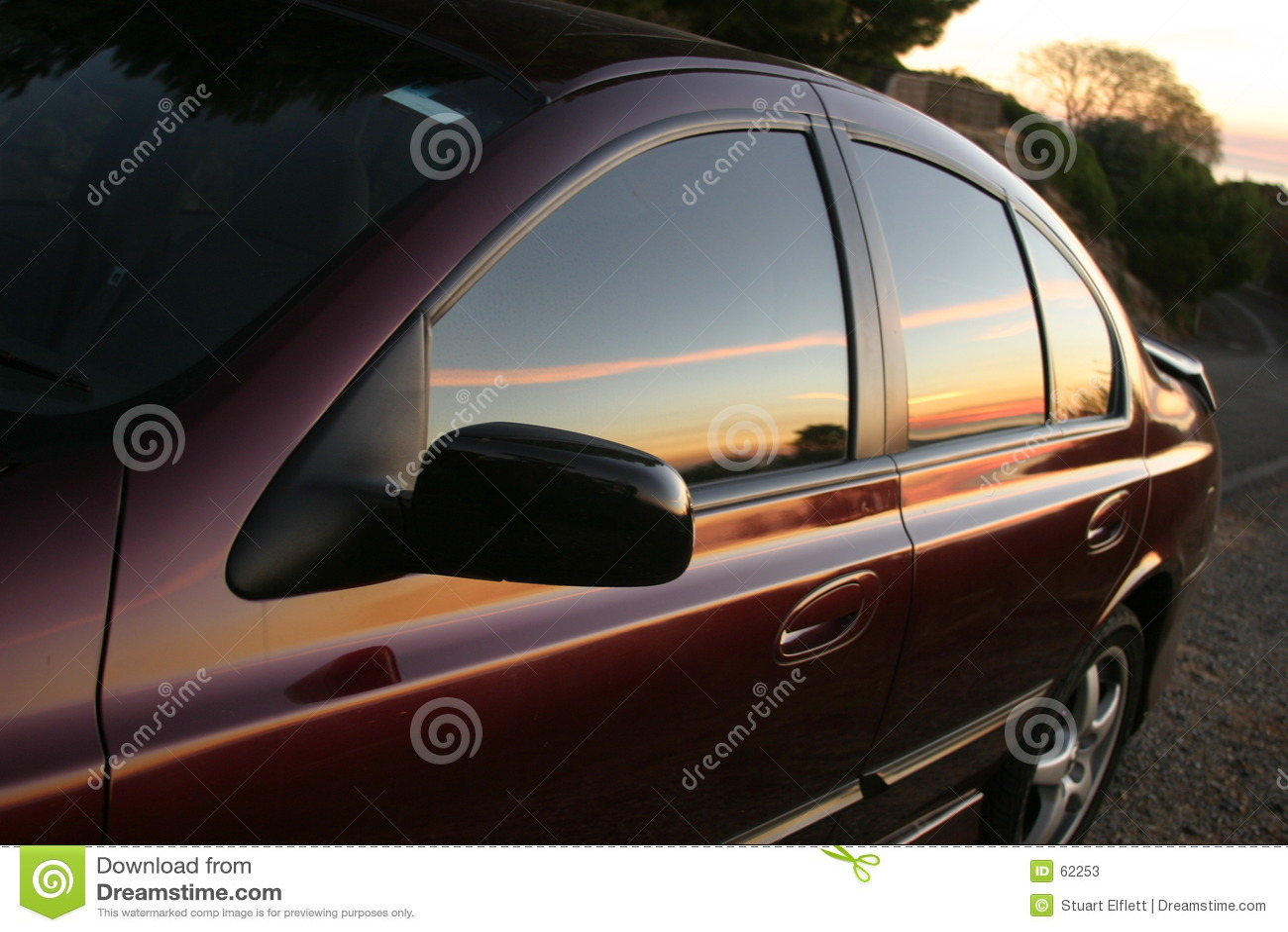 Download απεικόνιση του ηλιοβασ στοκ εικόνα. εικόνα από τελειώστε - 62253